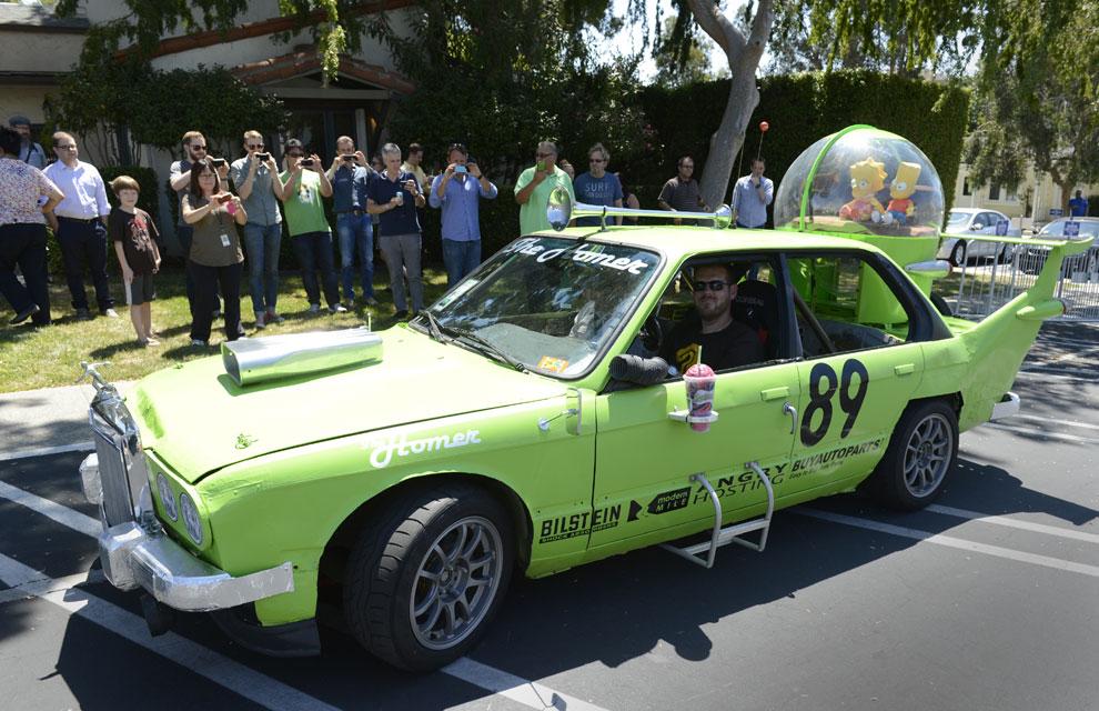El coche de Homer Simpson se hace realidad