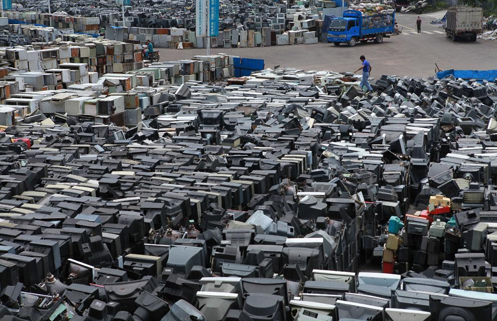 Un mar de pantallas cat dicas en china for Fotos de televisores