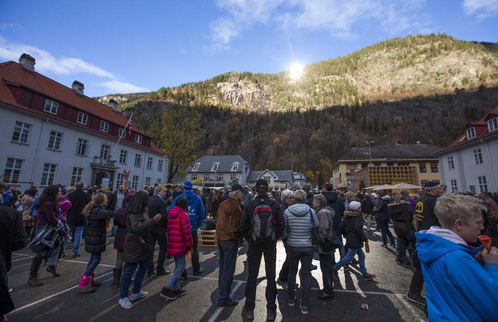 Rjukan, el pueblo que se ilumina con espejos