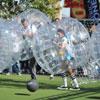 El deporte de moda es... el 'fútbol burbuja'