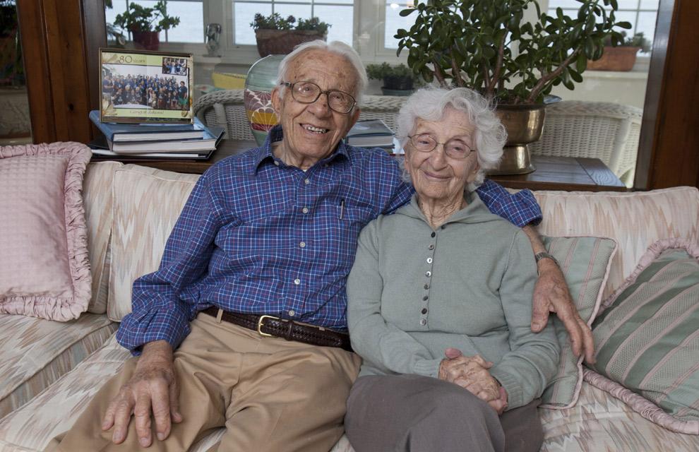 Celebran que llevan casados... ¡81 años!