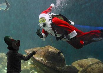 No hay nada imposible para Papá Noel