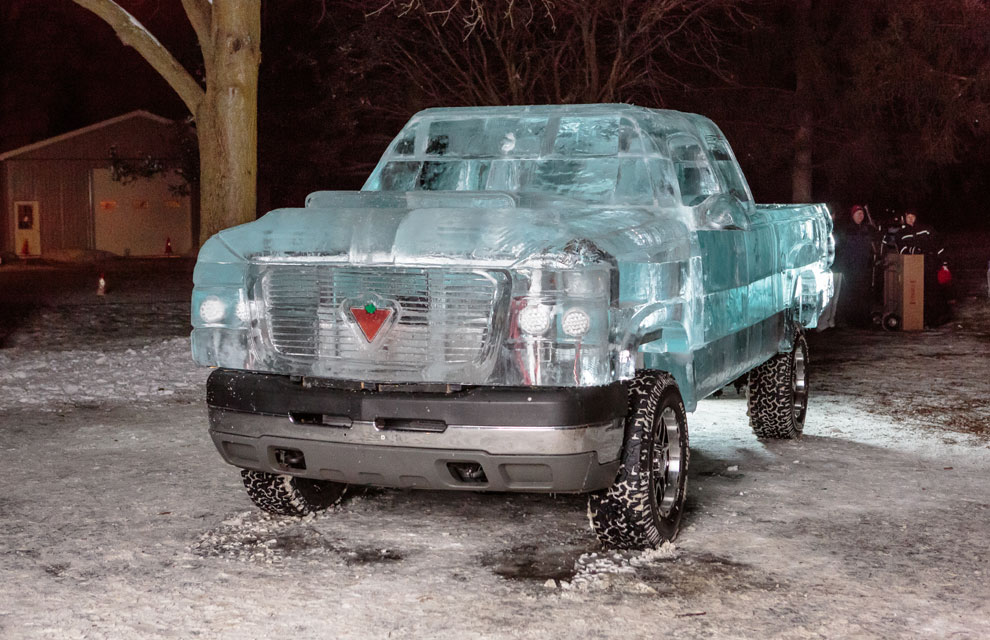 El coche más frío del mundo