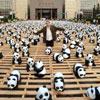 Cientos de pandas invaden Taipéi