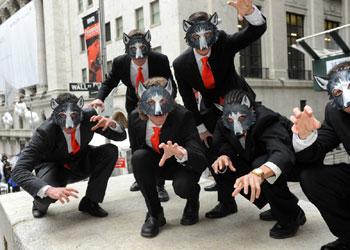 Wall Street se llena de 'hombres lobo'