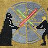 La saga 'Star Wars' en un tapiz de 10 metros