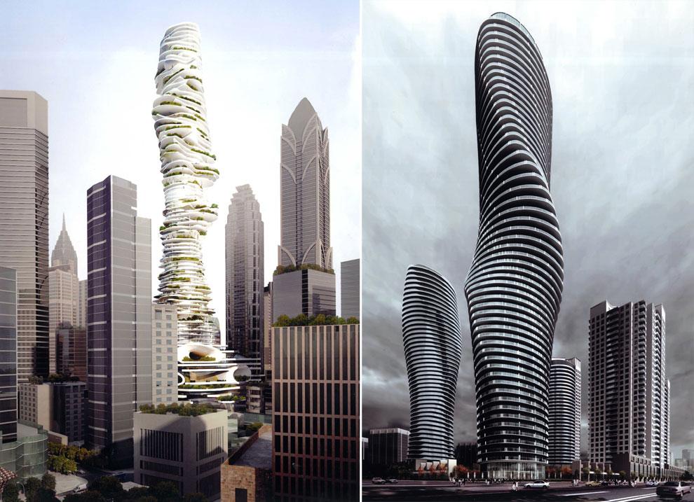Así serán los edificios del futuro