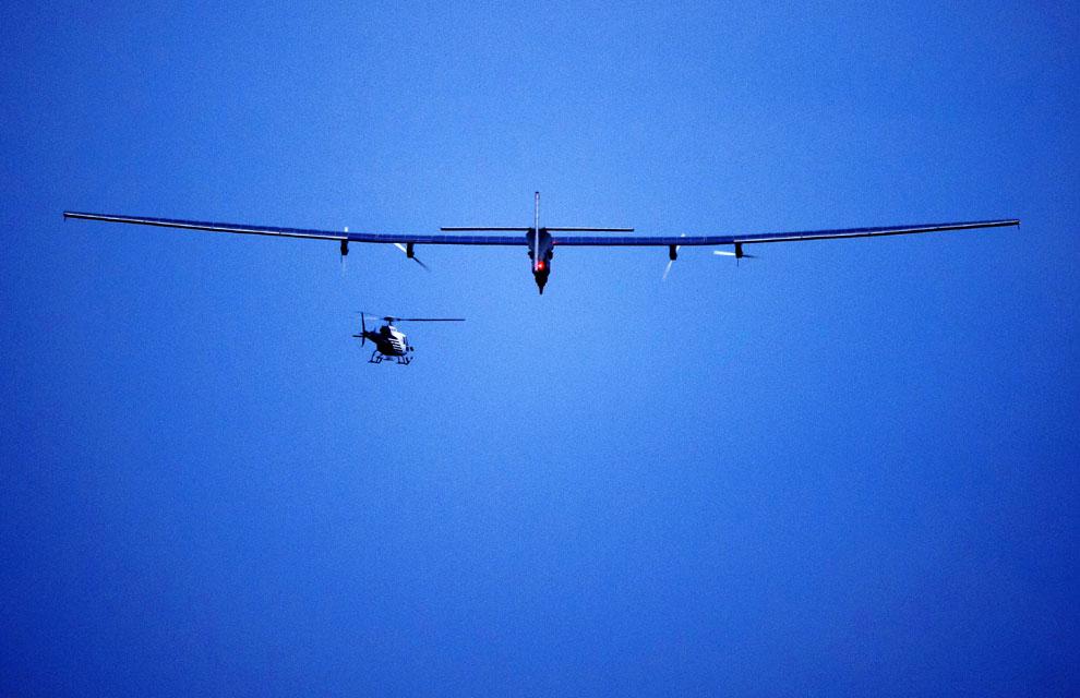Un avión sin combustible dará la vuelta al mundo