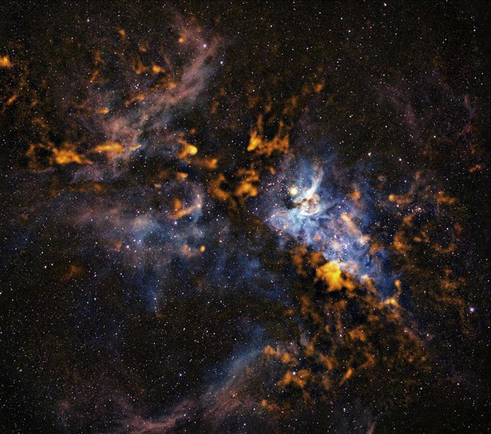Una foto da claves sobre la evolución estelar