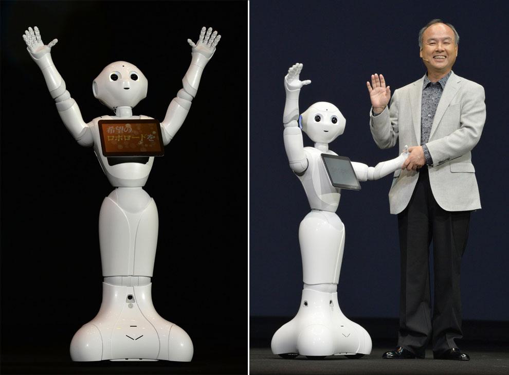 'Pepper', el robot que lee las emociones