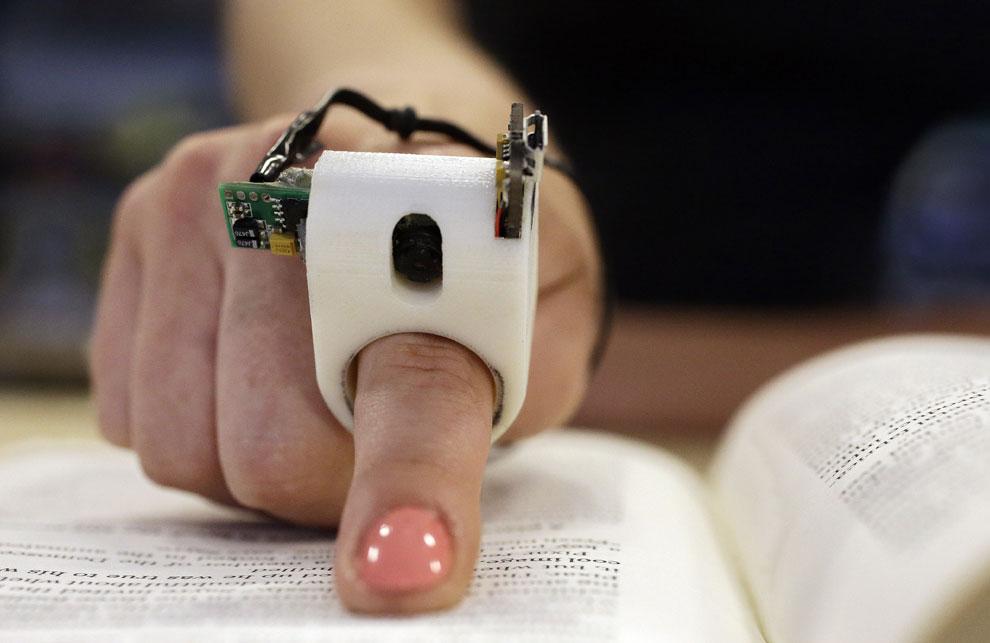 Leer con el dedo cualquier texto ya es posible