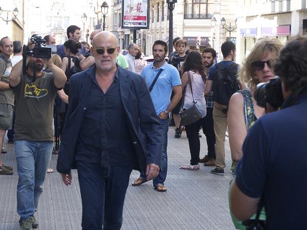 La íntima despedida del mundo del cine al actor Álex Angulo en Bilbao