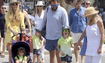 Los Thyssen, una familia unida y feliz en Ibiza