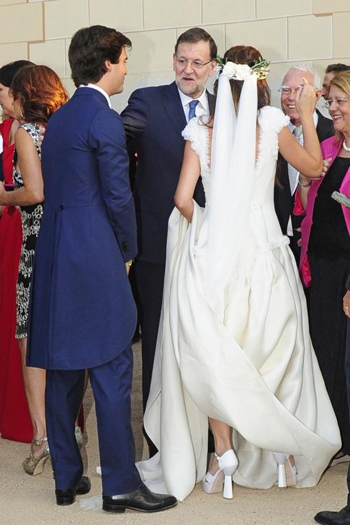 El Gobierno se da cita en la romántica boda de la hija de Luis de Guindos
