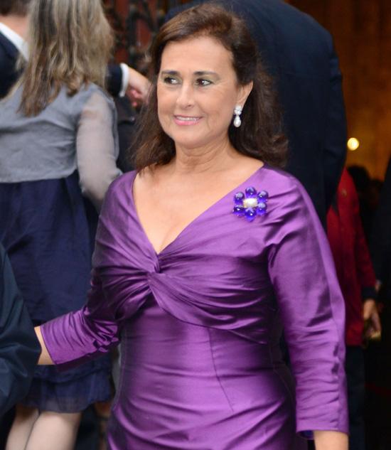 Carmen Tello: 'Me gustaría que mi hijo y Tamara fueran pareja porque es un encanto de niña'