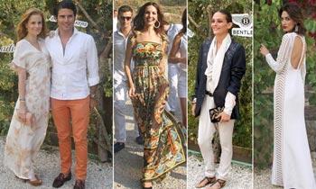 Mallorca se viste de punta en blanco con Nieves Álvarez, Olivia de Borbón, Eugenia Silva...