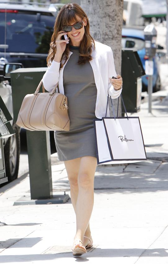 Está embarazada Jennifer Garner?