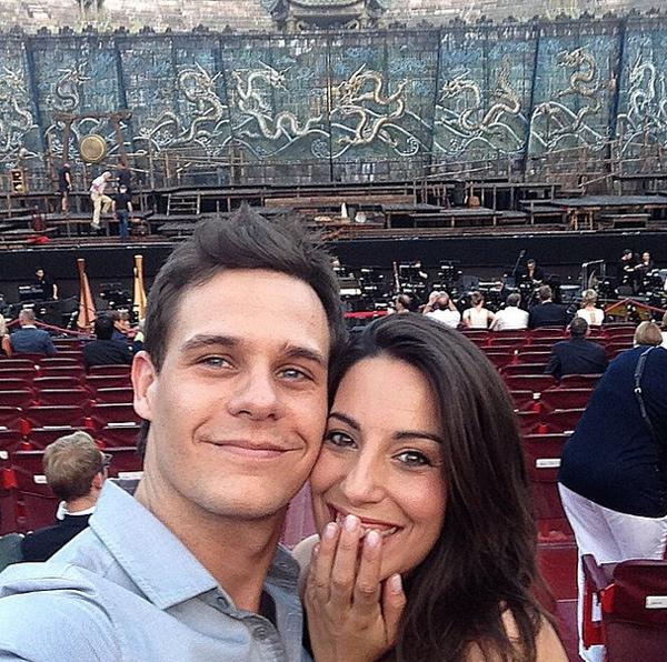 Christian Gálvez y Almudena Cid, cuatro años de amor incondicional