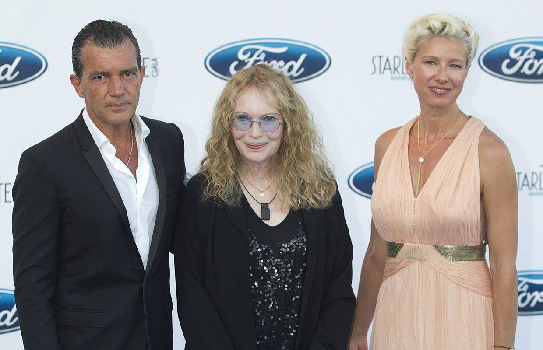 Antonio Banderas celebra su cumpleaños en la gala Starlite rodeado de estrellas y sin Melanie Griffith