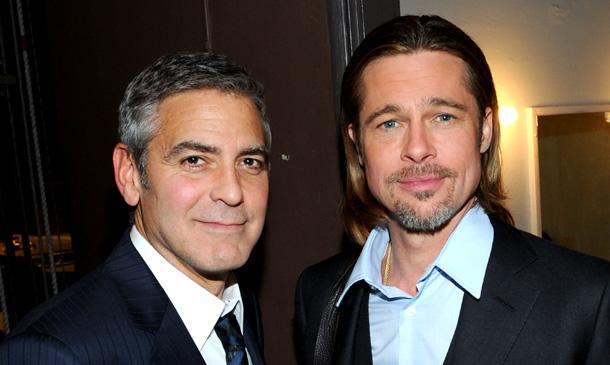 Brad Pitt, ¿elegido como padrino de boda por su gran amigo George Clooney?