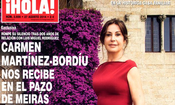 Exclusiva en ¡HOLA!: Carmen Martínez-Bordíu nos recibe en el Pazo de Meirás y nos anuncia su ruptura