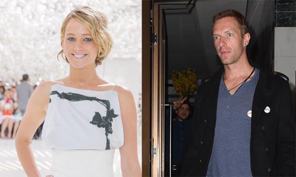 Lo que podría haber hecho saltar la 'chispa' entre Chris Martin y Jennifer Lawrence