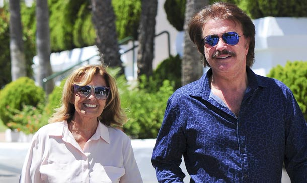 Las esperadas primeras imágenes de María Teresa Campos y Bigote Arrocet en Marbella