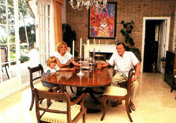 En agosto de 1984, el barón Von Thyssen declaró a ¡HOLA!: 'Carmen Cervera es divina'