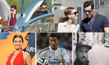 Mario Casas y María Valverde, Cristiano Ronaldo e Irina Shayk... parejas obligadas a amarse en la distancia