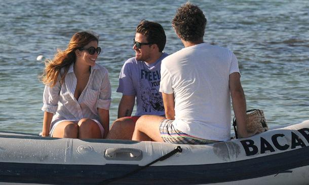 Blanca Suárez y Dani Martín disfrutan de su amor en Ibiza