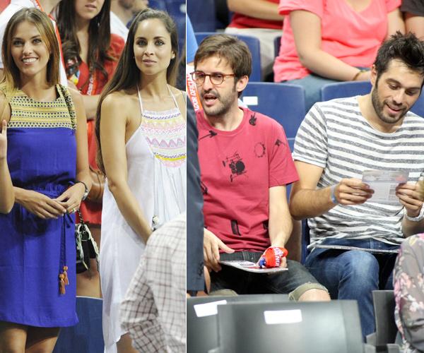 Amaia Salamanca cambia por unas horas a Rosauro Varo por su 'hermano', Eloy Azorín