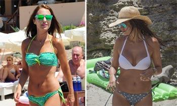 Sara Carbonero y Paula Echevarría, los 'cuerpos 10' de este verano según los lectores de hola.com