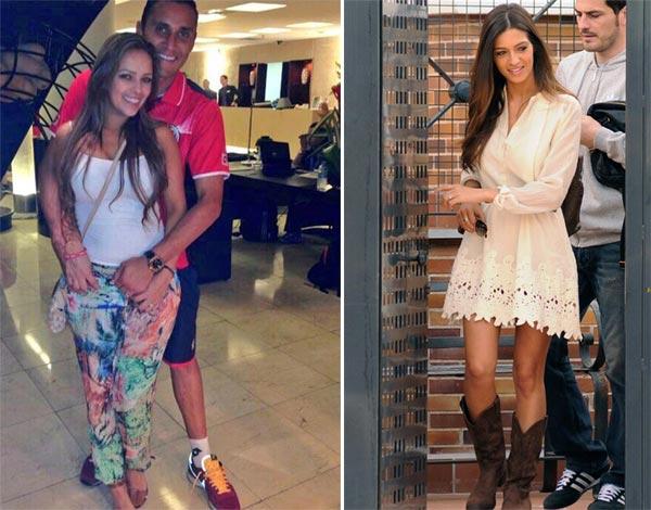 Sara Carbonero gana a Andrea Salas en la 'batalla' por la portería blanca