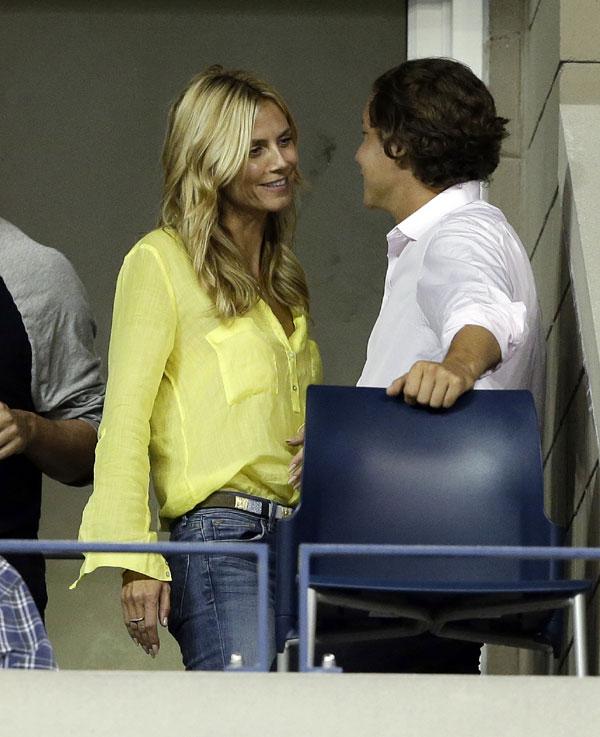 Heidi Klum se 'come a besos' a su novio Vito Schnabel