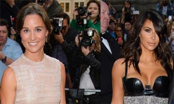 Pippa Middleton, Kim Kardashian, Gerard Butler... atractivo, personalidad y extravagancia se 'mezclan' en Londres