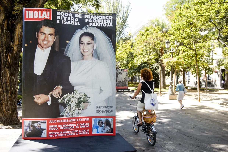 70 'grandes momentos' de la revista ¡HOLA! en una exposición inolvidable