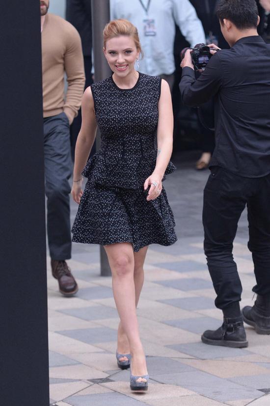 Scarlett Johansson ha sido mamá de una niña