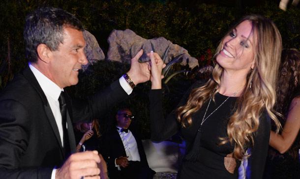 Antonio Banderas y Nicole Kimpel: todo comenzó con un baile en Cannes