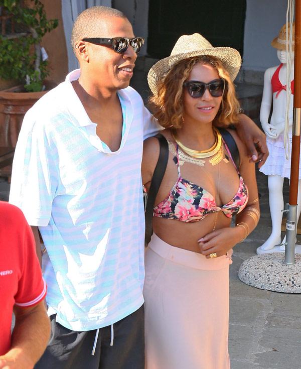 Una romántica escapada de Beyoncé y Jay Z a Portofino vuelve a silenciar los rumores de crisis