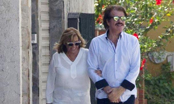 María Teresa Campos y Bigote Arrocet, de nuevo juntos en Málaga