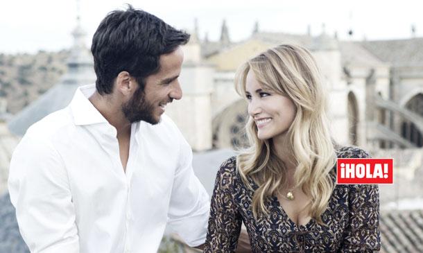 En ¡HOLA!, Alba Carrillo y Feliciano López nos desvelan los detalles de su boda: 'Nos casamos en julio, en Toledo'