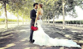 La boda sorpresa de Luis Fonsi con la modelo española Águeda López