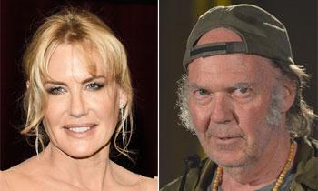 Daryl Hannah y Neil Young, la última pareja de este verano