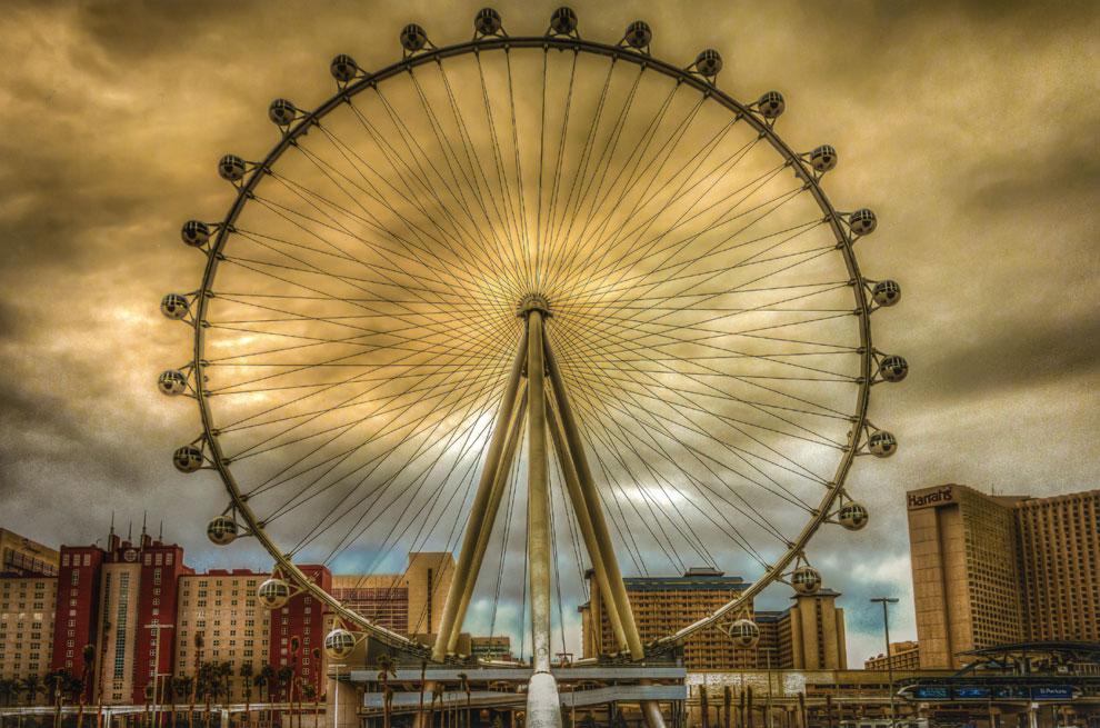 La noria más grande del mundo está en Las Vegas