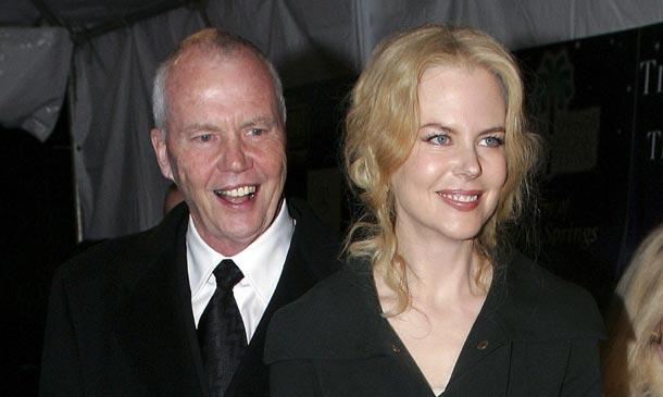 Nicole Kidman, en 'shock' tras la repentina muerte de su padre al que estaba muy unida