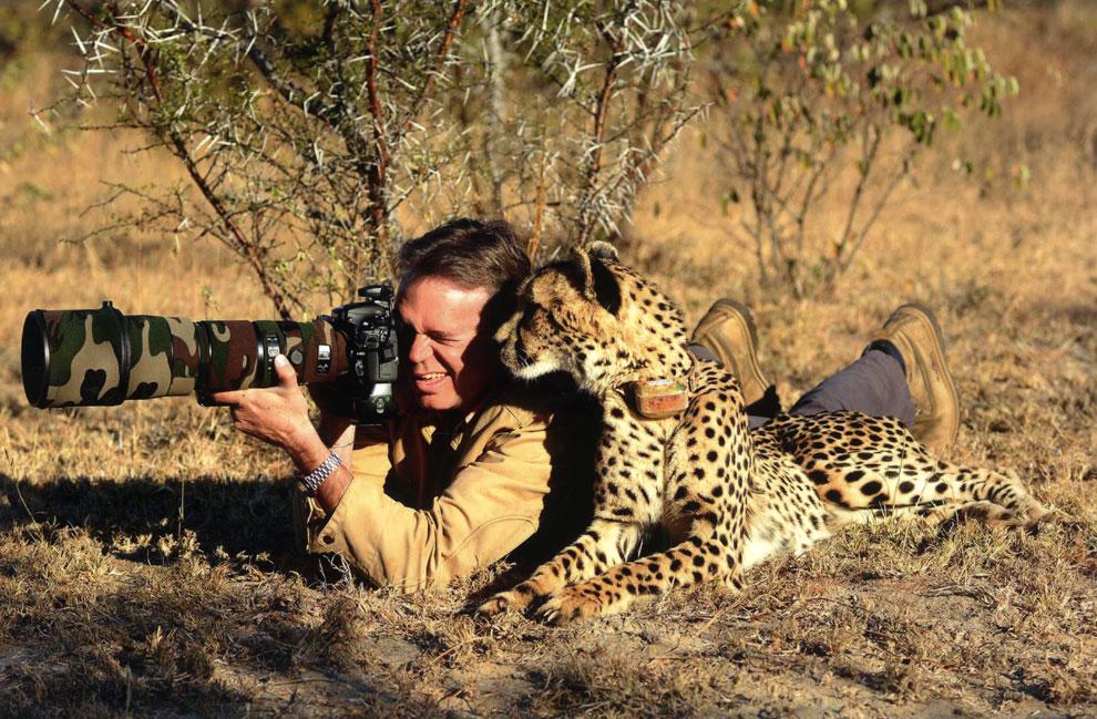 El guepardo que quiso ser fotógrafo