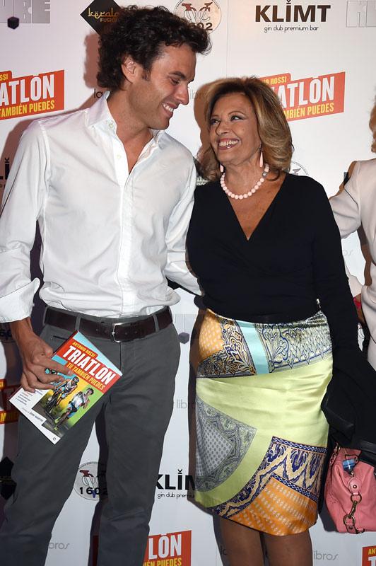 María Teresa Campos, Sonia Ferrer... se apuntan al 'Triatlón' de Antonio Rossi