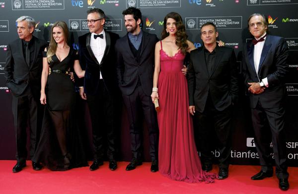 Solidaridad, 'glamour' y una discreta pareja... ¡Arranca el Festival de Cine de San Sebastiám!