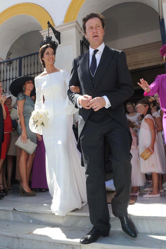 la boda de iván bohórquez reúne a la familia de bertín osborne con