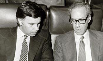 Miguel Boyer, una figura emblemática en el gobierno de Felipe González